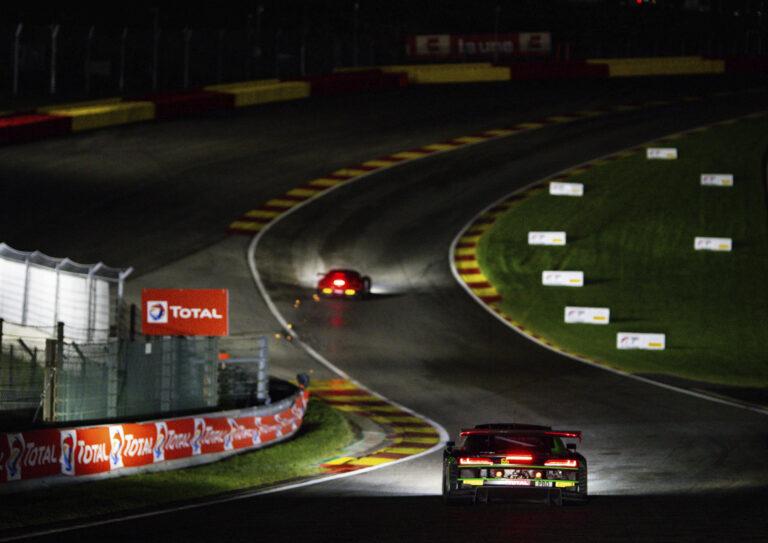 Audi R8 LMS #66 (Audi Sport Team Attempto), Mattia Drudi/Patric Niederhauser/Frédéric Vervisch